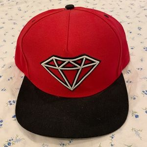 Dimond Supply Co. Red Snapback